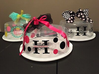 Monogram / Personalized Cake Carrier