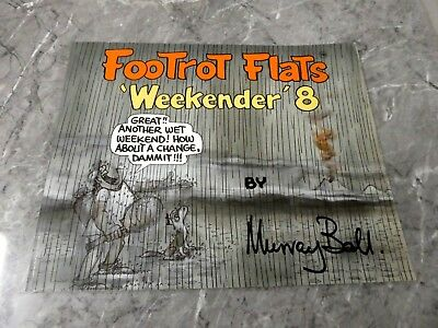 FOOTROT FLATS weekender 8 By MURRAY BALL, G21