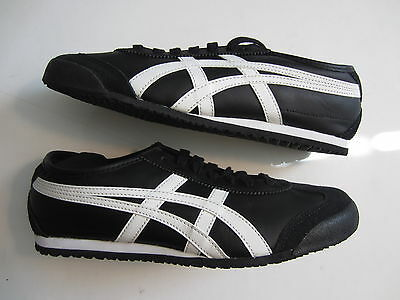 on sale 2a0ed 14f5d NEW ASCIS ONITSUKA Tiger Mexico 66 mens shoe DL408 9001 black white  ultimate 81