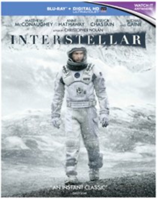 Matthew McConaughey, Wes Be...-Interstellar (UK IMPORT) Blu-ray NEW