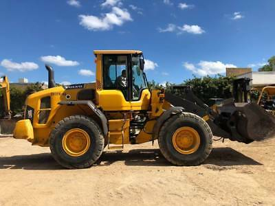 2012 Volvo L60G Wheel Loader; VERY NICE; Quick-coupler; 6410 HRS