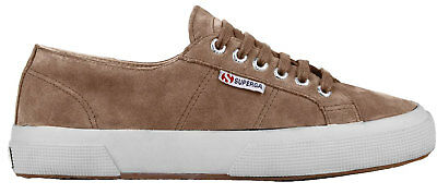 f51813725d32 Superga Sueu 2750 Damen Sneakers Low-top Turnschuhe S003sr0-182 Braun Neu
