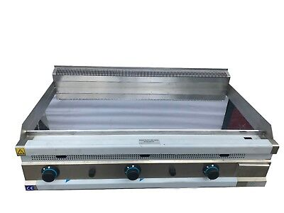 Gas Grill Plate Chrome Smooth 90/70