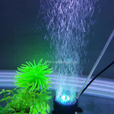 Lamp Light Tank Aquascape Led Aquarium Stone Lighting Fish Bubble Air Submarine nwPO80k