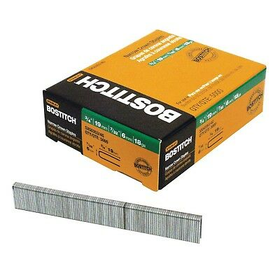 Stanley Bostitch Sx5035 Series Galvanised Narrow Crown Finish Staples