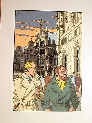 Juillard Serigraphie Hc Blake Et Mortimer Archives Internationales N&s Neuf