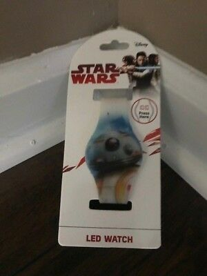 Disney Star Wars LED watch BB-8  Brand New