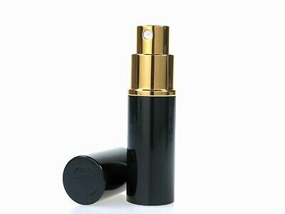 8ml Black Quality Travel Atomizer for Perfume / Aftershave with Filling Funnel
