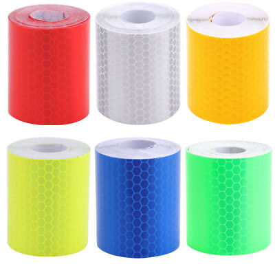 3m Car Truck Reflective Safety Warning Signs Conspicuity Roll Tape Film Stickers
