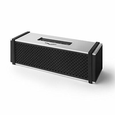 V-MODA REMIX Hi-Fi Bluetooth Wireless Metal Speaker - Silver