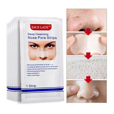 Blackhead Remover Mask Pore Nose Strips Cleanser Nose Mask Peel Off Mask AU