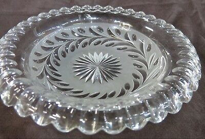 """Replacement Epergne Glass Bowl. Round, 10"""" Diameter"""