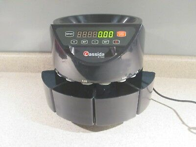 Cassida C-100 C100 Coin Sorter Counter Machine Digital Display. No Reserve!