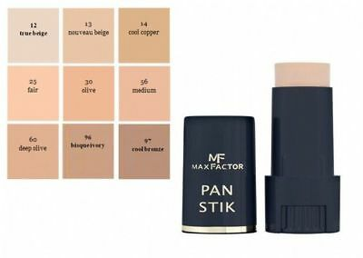 Max Factor Pan Stik Foundation Full Coverage- Various Shades Available