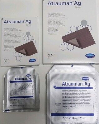 Atrauman Ag (silver) in 3 sizes, pick size and quantity required