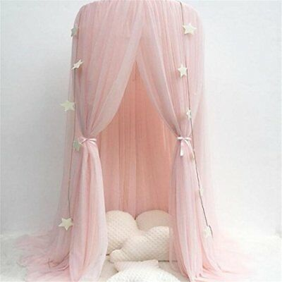 Bed Canopy for children, Cotton Mosqutio Net Hanging Curtain, Baby Indoor Outdoo
