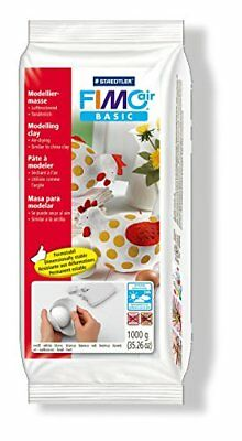 Fimo Staedtler Air Basic Air Drying Modelling Clay 1 kg - White