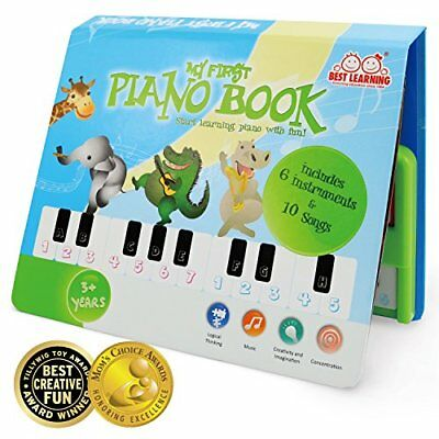 BEST LEARNING My First Piano Book - Educational Musical Toy for Kids