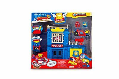 MagicBox MBXPSZPP112IN00 SuperZings Rivals of Kaboom Police Station Playset, Mul