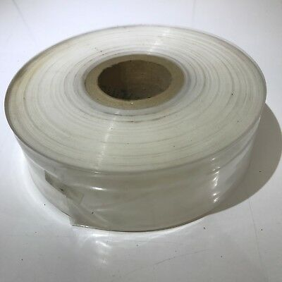 """Large Roll Of Polythene Poster tubing 2"""" diam. Unused old stock"""