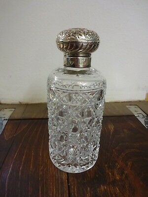 Silver Topped Scent Bottle Birmingham 1997