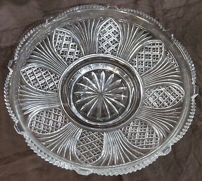 """Replacement Epergne Glass Bowl. Round, 13.5"""" Diameter"""
