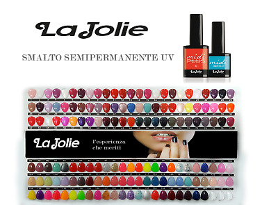 LA JOLIE SEMIPERMANENTE  MIDI 7 ML SMALTO GEL UNGHIE  UV/LED - 182 Colori