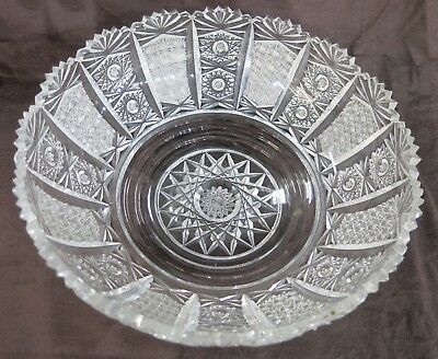 "Replacement Epergne Crystal Bowl. Round, 11"" Diameter"