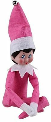 Christmas Elf Doll,Pink Girl, Shelf Elf.NEW-Doll Only
