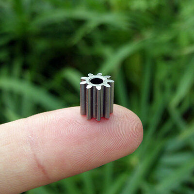 Alloy Gear 9T 0.75M Inner Diameter 3.15mm For 550 Motor/Motor Shaft/Toy DIY Part