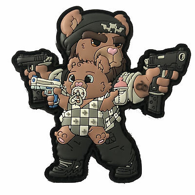 CUDDLESIGN DADDY AND CUB - CHAPTER III - Tactical Teddy Patch by HIWEZ