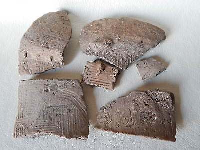Neolithic Pottery Shards #12. Trypillian culture.