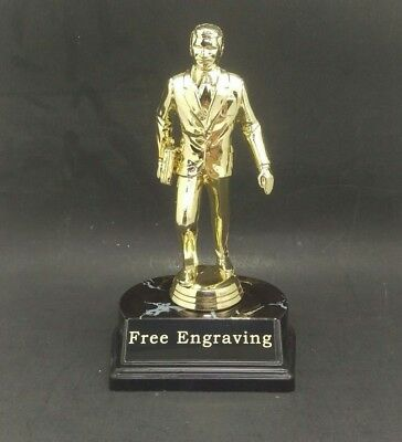 Dundie Award Trophy The Office TV Show. Salesman Trophy. Free Engraving.