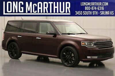 2018 Ford Flex Limited 2018 Limited Used Certified 3.5L V6 24V Premium Automatic AWD SUV