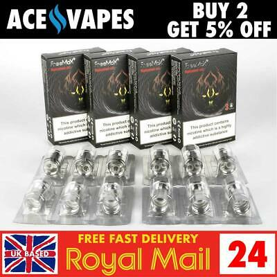 FREEMAX MESH PRO Replacement Coils / Atomisers - AUTHENTIC - 3 Packs - UK SELLER