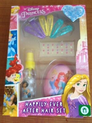 Disney princess- Happily ever afer hair gift set. Brand new in box- Christmas