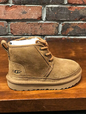 Nwb Kids Ugg Neumel Ii Water Resistant Boot Chestnut 1017320 Original