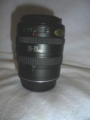 CANON EF ZOOM LENS 28-70mm 3.5-4.5 COMPLETE WITH BOTH END CAPS-GREAT CONDITION