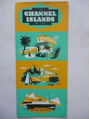 British Railways - The Channel Islands by sea - Brochure Tourisme - in english