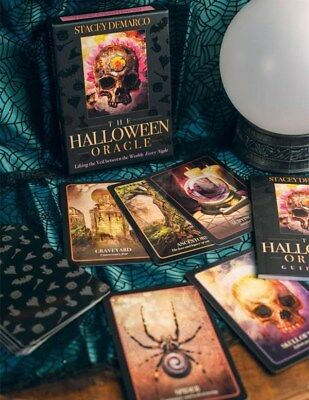 Victorian Trading Co Halloween Oracle Tarot Cards