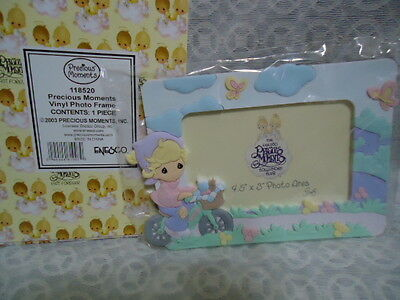 PRECIOUS MOMENTS PHOTO FRAME WITH BOX - UNOPENED price lowered