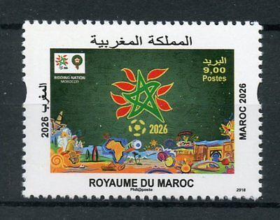 Morocco 2018 MNH FIFA World Cup Football 2026 Bid 1v Set Soccer Sports Stamps