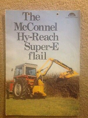 McConnel. Hy Reach Super E Flail Brochure