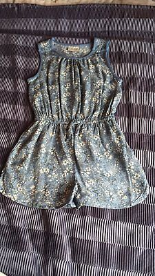 Girls Age 6 Years Next Floral Print All In One Shortsuit