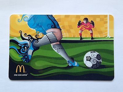 World Cup Soccer Mcdonalds Gift Card