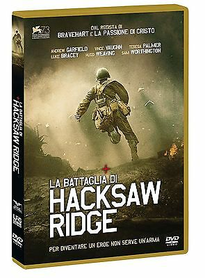 Cofanetto+Dvd Nuovo Sigillato Film La Battaglia Di Hacksaw Ridge In Italiano