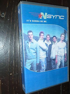 N SYNC It's Gonna Be Me Official UK Promo VHS VIDEO Justin Timberlake RARE