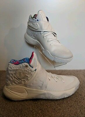 san francisco af3dd fb717 NWOB NIKE Kyrie 2 What The Kyrie Sail Men s Size 8.0  914681-100