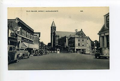 Ma Sales Tax On Cars >> Beverly Ma Mass Ellis Square Street View Old Cars Stores