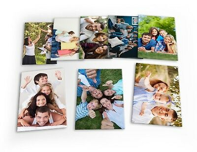 Photo Collage Personalised Family Wedding 8 X Plastic Poster Fridge Magnets